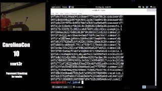 Password Cracking for noobs: All your hashes are belong to us - smrk3r