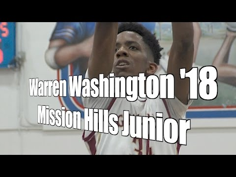 Warren Washington '18, Mission Hills Junior Year