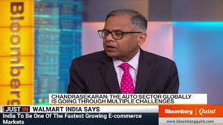 Tata Sons Chairman N Chandrasekaran On Tariff Wars & More