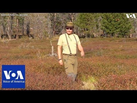 Vladimir Putin Takes Hiking Break