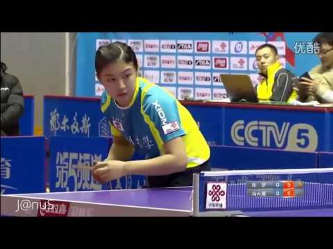 2016 China Super League: FENG Tianwei Vs CHEN Meng [Full Match/Chinese|HD]