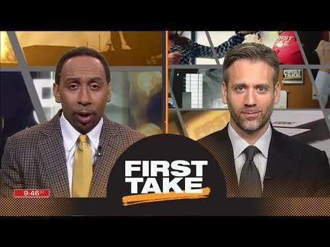Stephen A. and Max react to James Harden's crossover on Wesley Johnson | First Take | ESPN