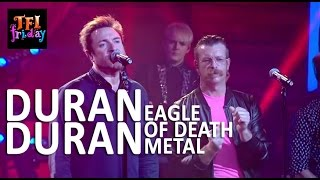"[HD] Duran Duran w/ Eagle Of Death Metal - ""Save A Prayer"" 10/30/15 TFI Friday"