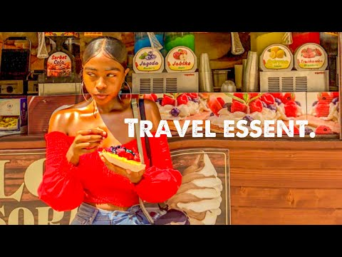 TRAVEL ESSENTIALS / HOW I STAY HEALTHY WHILE TRAVELING | Maryjane Byarm