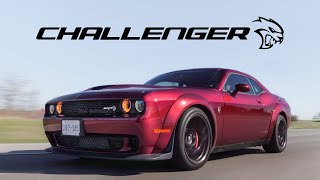 2018 Dodge Challenger Hellcat Widebody Manual Review - The Best Muscle Car