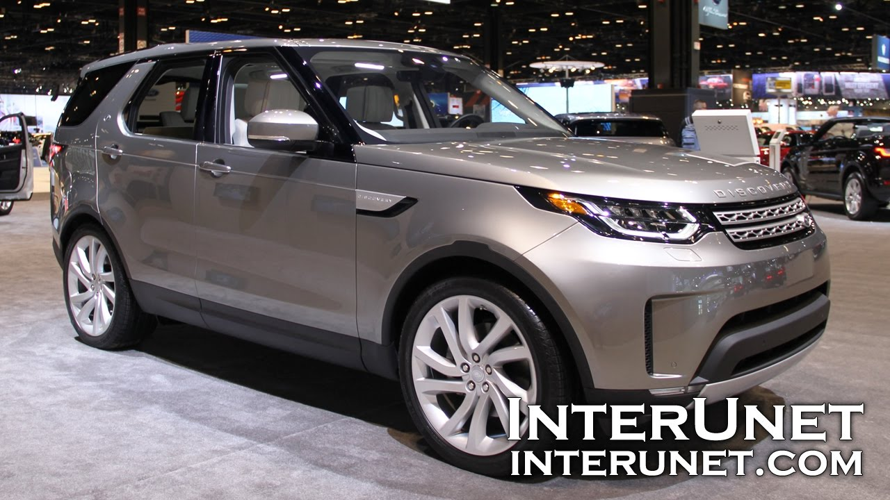 2017 7 Passenger Suv >> 2017 Land Rover Discovery Hse Lux 7 Passenger Suv