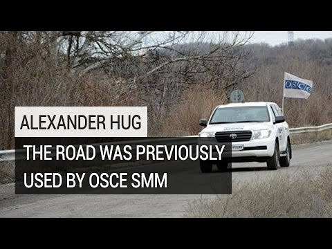 Land Mine Kills OSCE Observer in Eastern Ukraine