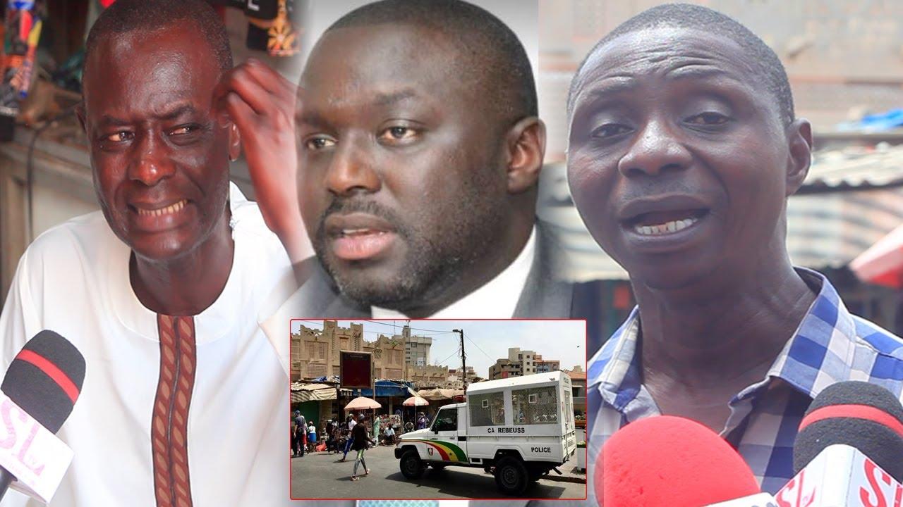 "Marché Sandaga Rasé:Ce commerçant déverse sa colère sur A.K.Fofana""dafa yek bopam té bimouy nek xalé"