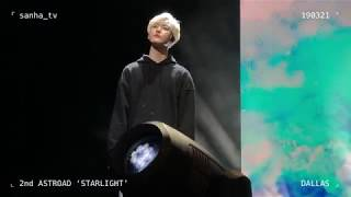 [SANHA FOCUS] By Your Side ? ASTRO @ 2nd ASTROAD 'Starlight' in DALLAS (19.03.21)