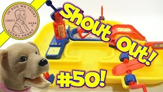 Shout-out Time! (video #50) Lps Dave & Butch Water & Sand Play Set...butch Drinks The Water!