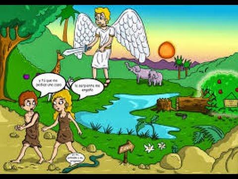Caricaturas cristianas adan y eva peliculas cristianas for Adan y eva en el jardin del eden