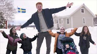 Lever en dag hos Sveriges kortaste familj