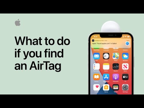 What to do if you find an AirTag — Apple Support