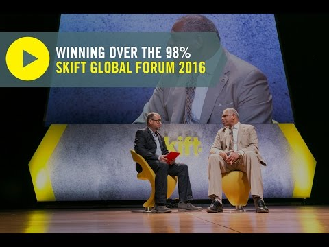 Carnival Corp. CEO Arnold Donald at Skift Global Forum 2016