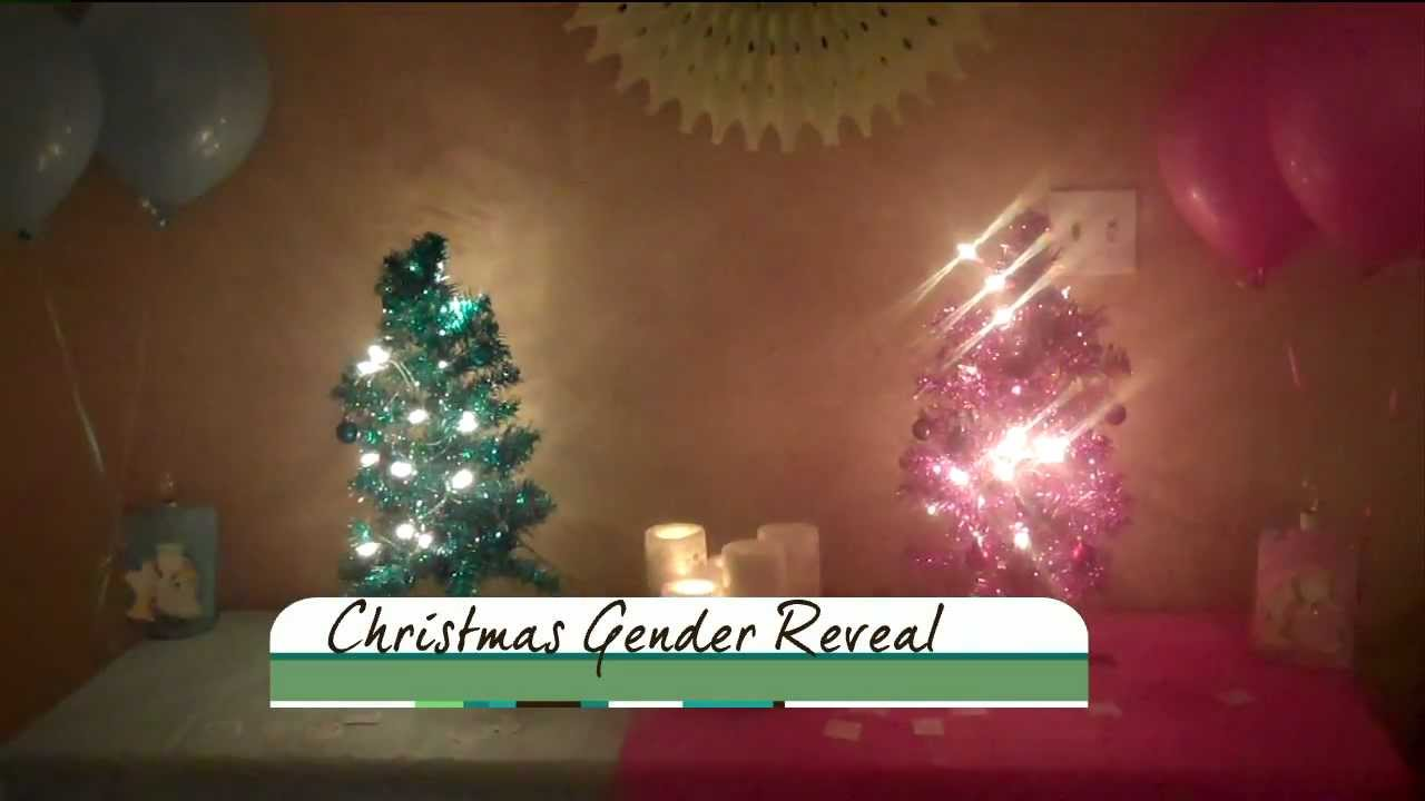Christmas Gender Reveal Ideas.Our Christmas Gender Reveal