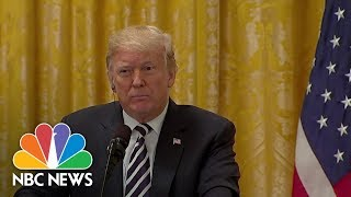President Trump Says He Feels 'Terribly' For Brett Kavanaugh, Doesn't Mention Accuser | NBC News