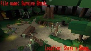 ROBLOX Gameplay Survive Shrek!