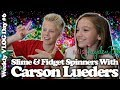 Slime and Fidget Spinners Live with Carson Lueders!  Weekly VLOG Day 6!
