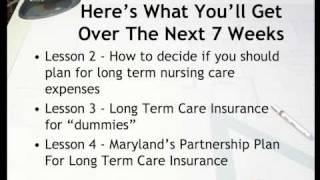 long term care insurance course #1