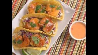 Sweet Chili Shrimp Tacos