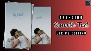 Smooth Text Lyrical Video Editing Alight Motion   Full Screen Lyrics Editing   Alight Motion Editing