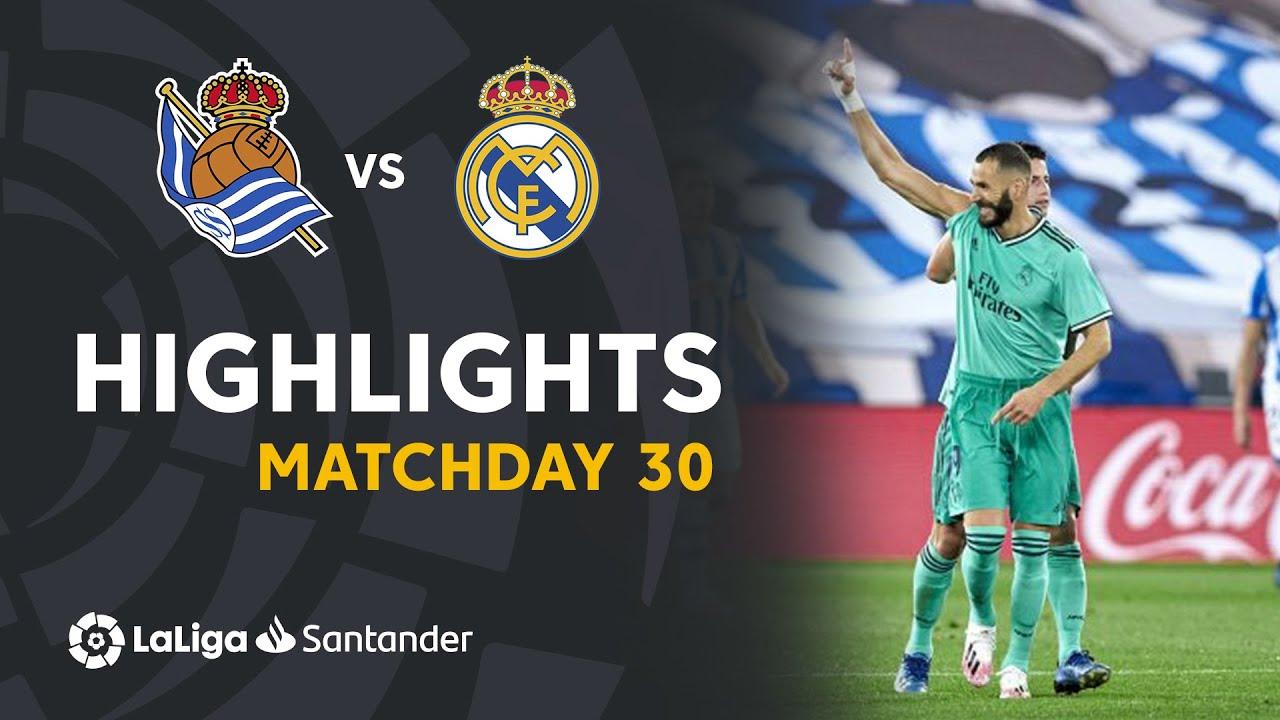 Download Highlights Real Sociedad vs Real Madrid (1-2)