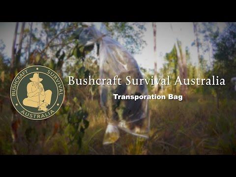 "Bushcraft Survival Australia - Water ""Transpiration Bag"""