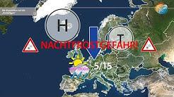 Wettervorhersage: Das 7 bis 10 Tage-Wetter. Kommen die Eisheiligen?