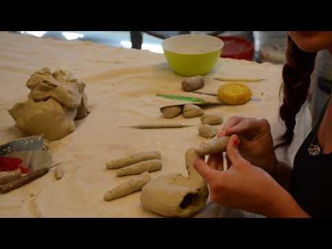 Sarah's Timelapse: Handbuilding a Hand