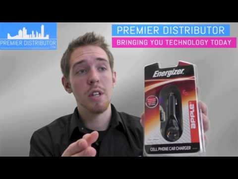 Premier Distributor - Energizer Apple Cell Phone Car Charger