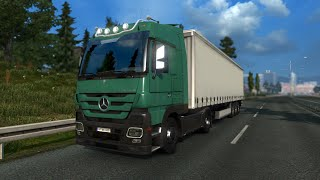 ETS2 Mercedes-Benz Actros MP3 V6 & V8 sound mod v1.0
