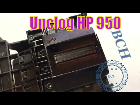 3 Ways to Unclog HP 950 Printhead - OfficeJet Pro 8100 8600 8610 8620 8630