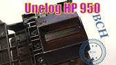 hp officejet pro 6830 printer head Cleaning - YouTube
