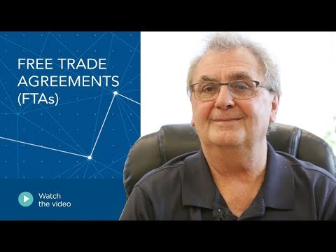 Free Trade Agreements (FTAs)