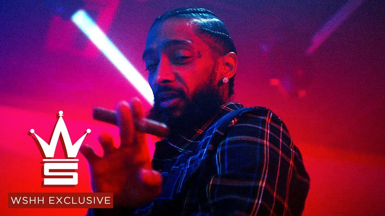 Nipsey Hussle Feat  Roddy Ricch & Hit-Boy - Racks In The Middle | Video
