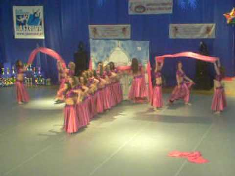 IFMD World Championship of Modern Dance Sport - Fantasy formacja Węgry - Hungary
