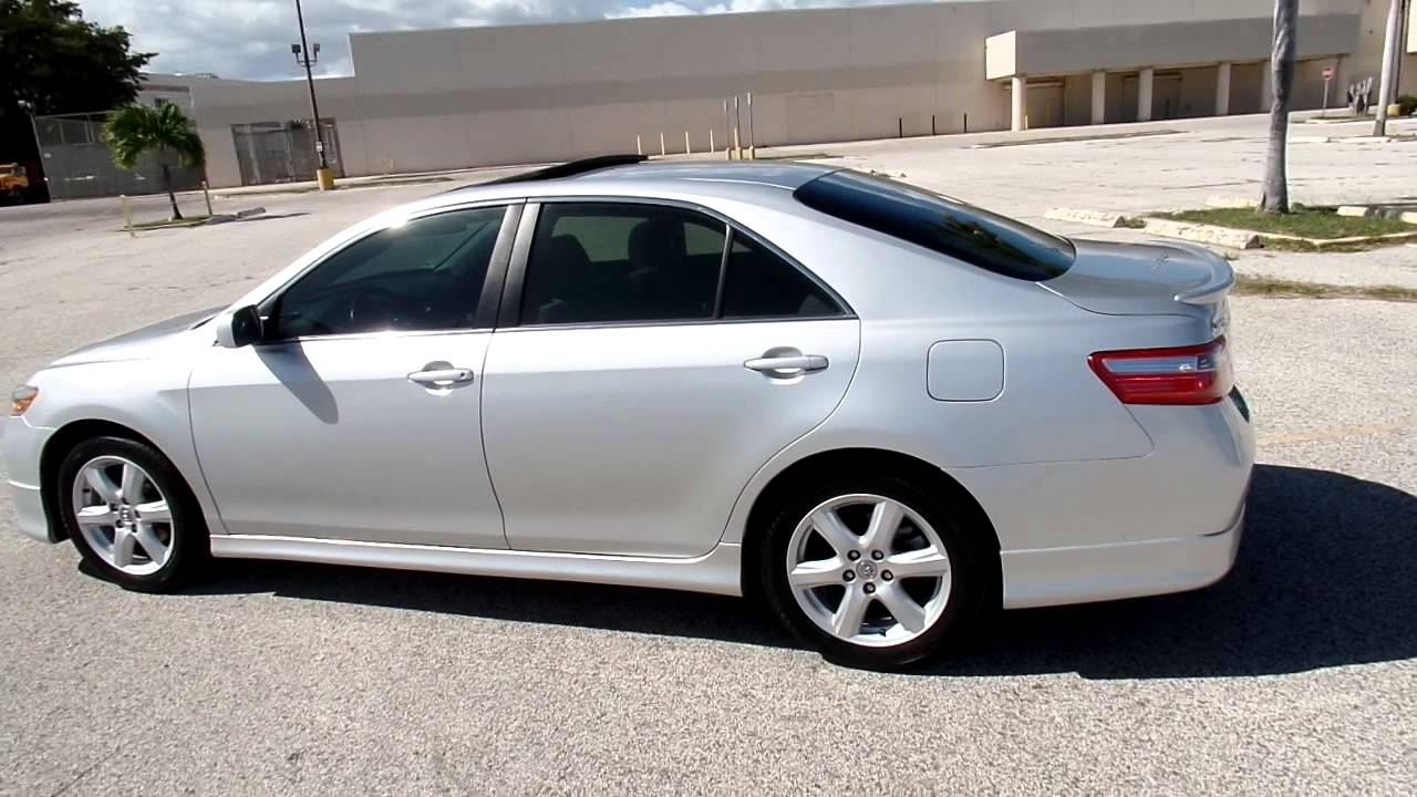 Toyota Camry Sport 2008 Jusber Munoz For