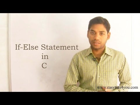 If Else Statement in C (HINDI/URDU)