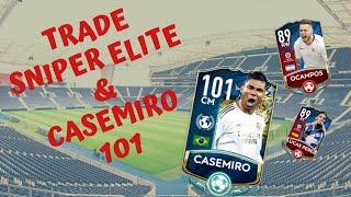 TRADE FIFA MOBILE - SNIPER DE ELITE LUCRO ALTO E CASEMIRO GER101