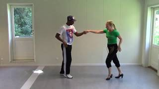 Salsa Cubana with Stine Ortvad and Felix - 1 part without music