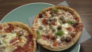 Red Baron Deep Dish Single Pizzas!! Frozen Food from Walmart Alpena Michigan.