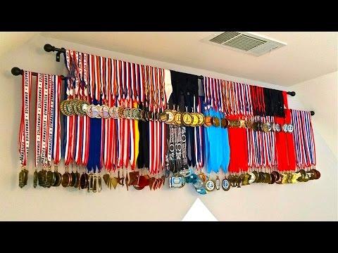 DIY Medals Display, How to Display Medals Inexpensive