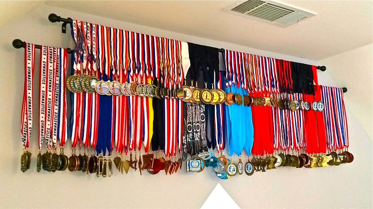 Diy Medals Display How To Inexpensive