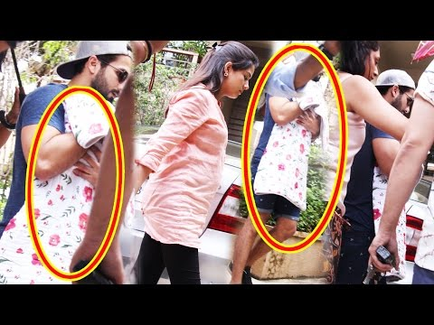 Shahid Kapoor And Mira Rajput Take Their Baby Girl Home
