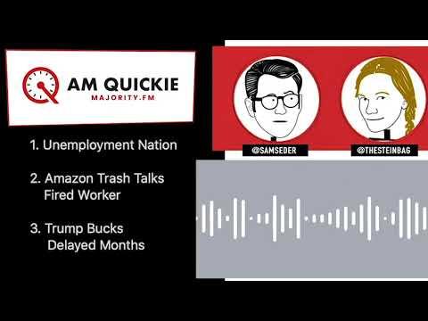 #AMQuickie 4/3 - Unemployment Nation