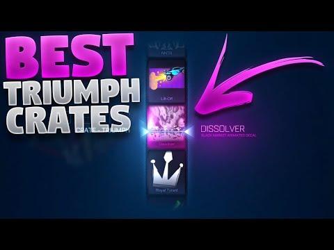 Best Triumph Crate Openings On Rocket League