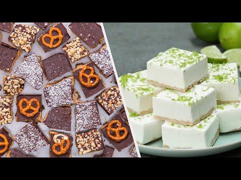 5 Healthy & Delicious Dessert Bars