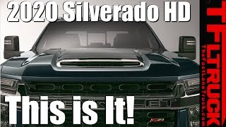 Breaking News: Everything There is to Know About the 2020 Chevy Silverado HD!