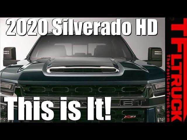 The 2020 Chevrolet Silverado Hd Looks Really Damn Tough Driving