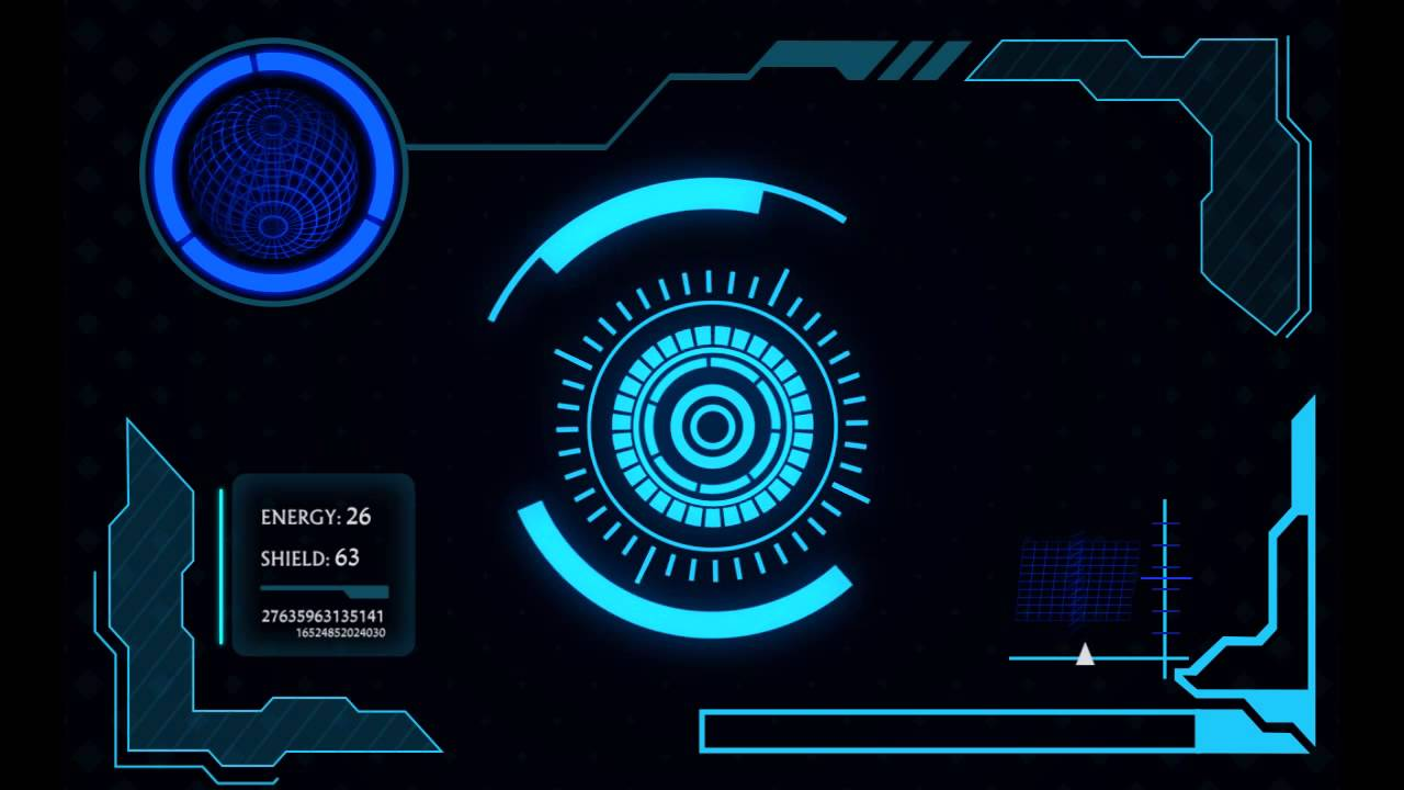 Sci-fi Interface HUD Package by 3uma | VideoHive